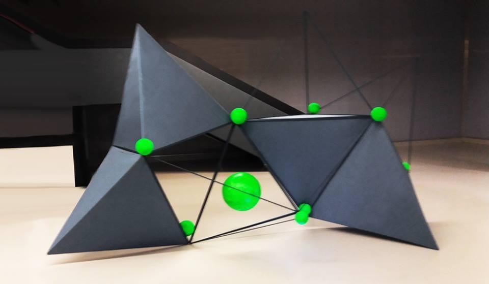 The Network, 5x3x3 (Lxlxh)m