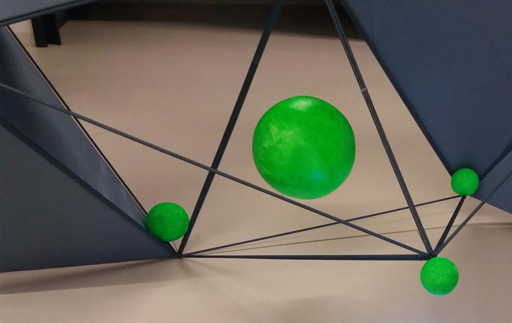 detail, The Network, 5x3x3 (Lxlxh)m